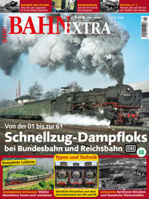 Schnellzug-Dampfloks bei Bundesbahn und Reichsbahn